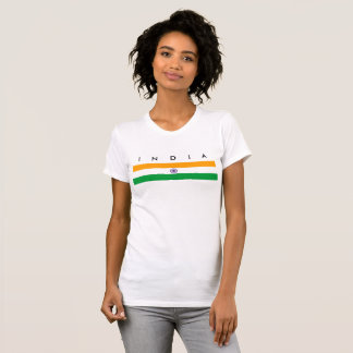 India country long flag nation symbol republic T-Shirt