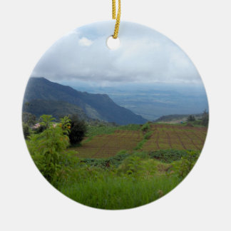 India Countryside Christmas Ornament