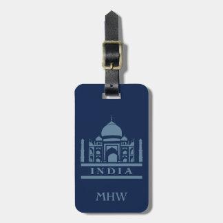 INDIA custom luggage tag