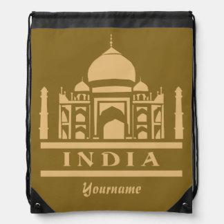 INDIA custom monogram & color backpack