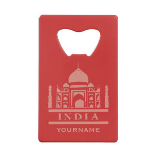 INDIA custom monogram & color bottle opener