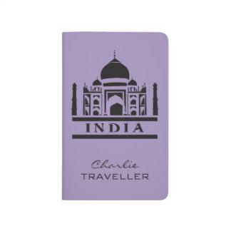 INDIA custom name & color pocket journal