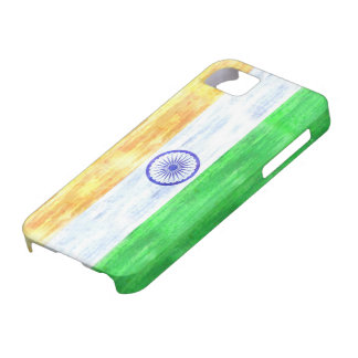 India distressed Indian flag iPhone 5 Case