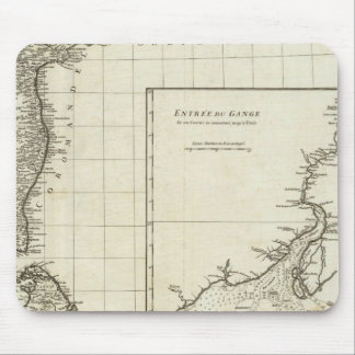 India Engraved Map Mouse Mat