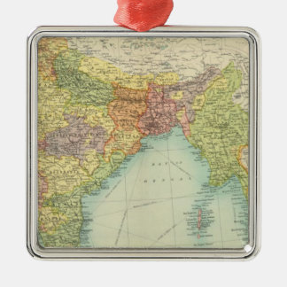 India & Farther India political Christmas Ornament