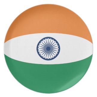 India Fisheye Flag Plate