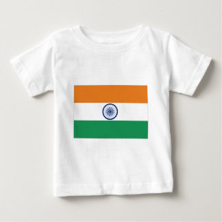 India Flag Baby T-Shirt