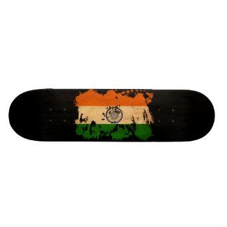 India Flag Custom Skateboard