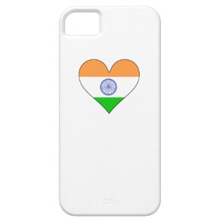 India Flag Heart iPhone 5/5S Covers