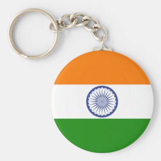 India Flag Keychain