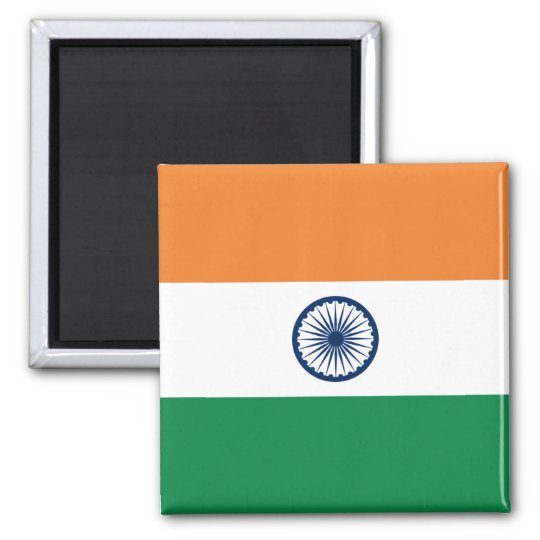 India Flag Magnet