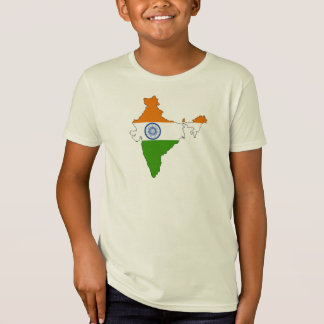 India flag map T-Shirt