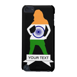India flag on any color iPod touch 5G cover
