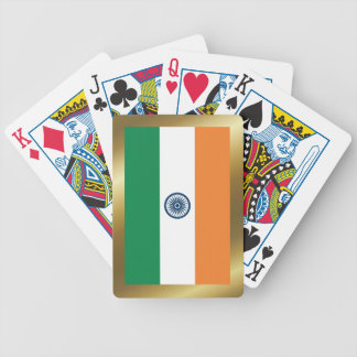 India Flag Playing Cards
