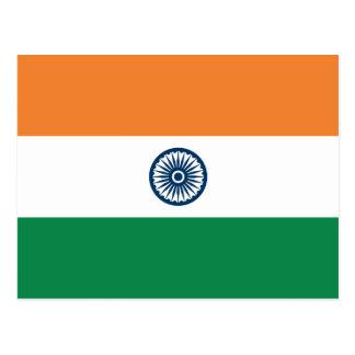 India Flag Postcard