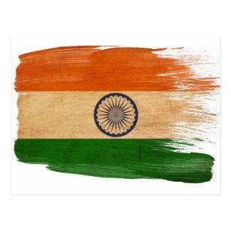 India Flag Postcards