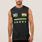 India Flag Sleeveless Shirt