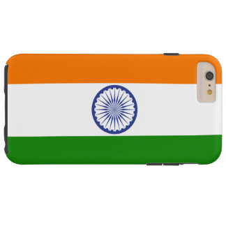 India flag tough iPhone 6 plus case