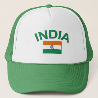 India Flag Trucker Hat