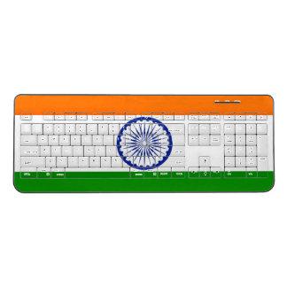 India Flag Wireless Keyboard