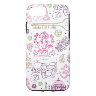 India ganesha yoga art iPhone 7 case