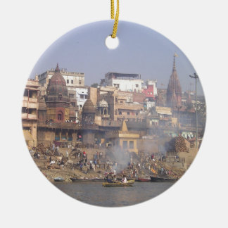 India Ganges River Christmas Ornament