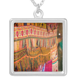 INDIA, Goa, Baga: Saturday Evening Market (NR) Silver Plated Necklace
