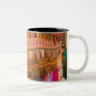 INDIA, Goa, Baga: Saturday Evening Market (NR) Two-Tone Coffee Mug