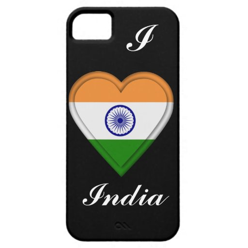 India Indian Flag iPhone 5 Cases