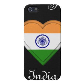 India Indian Manga Flag girl iPhone 5/5S Cover