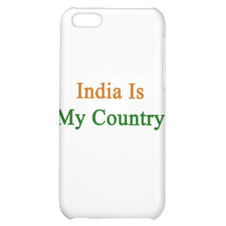 India Is My Country iPhone 5C Cover