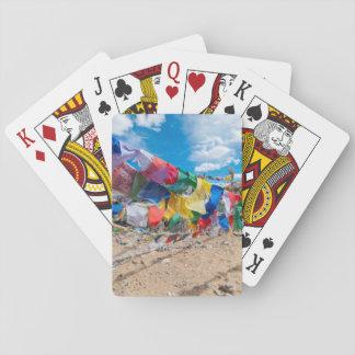 India, Jammu & Kashmir, Ladakh, Namshangla Pass Playing Cards