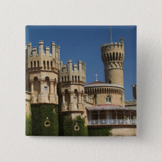 INDIA, Karnataka, Bangalore: Bangalore Palace 15 Cm Square Badge