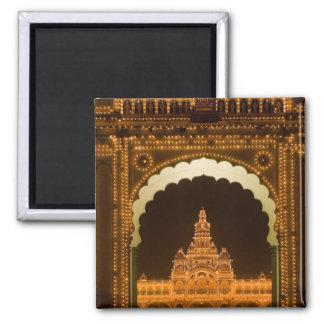 INDIA, Karnataka, Mysore : Majaraja's Palace (b. 3 Square Magnet
