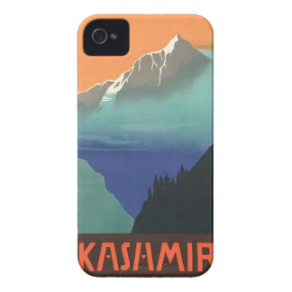 India (Kashmir) Travel Poster iPhone case