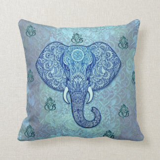 India lord-Ganesh-Elephant art Cushion
