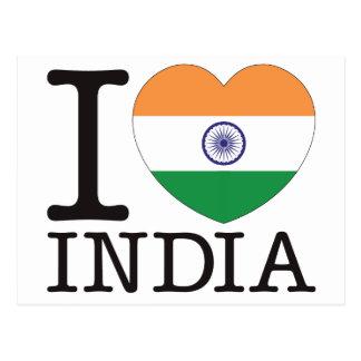 India Love v2 Post Card