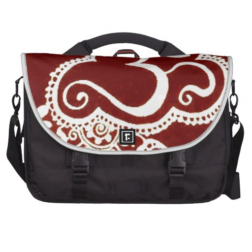 India mehndi red henna bags for laptop