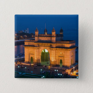 INDIA, Mumbai (Bombay): Gateway of India / 15 Cm Square Badge