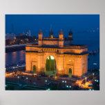 INDIA, Mumbai (Bombay): Gateway of India / Poster