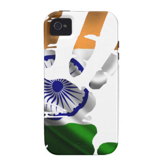 INDIA NICE HAND FLAG PRODUCTS iPhone 4 COVER