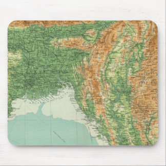 India northeastern section mouse pad