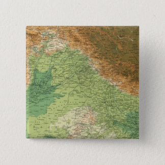 India northwestern section 15 cm square badge