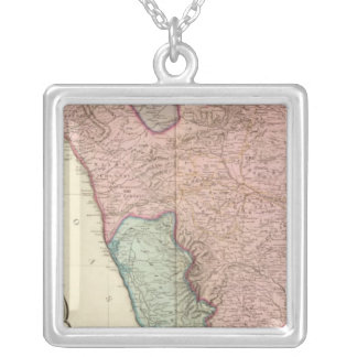 India peninsula South Silver Plated Necklace