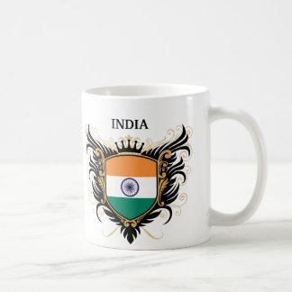 India [personalize] coffee mug