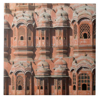 INDIA, Rajasthan, Jaipur: Hawa Mahal (Palace of Large Square Tile
