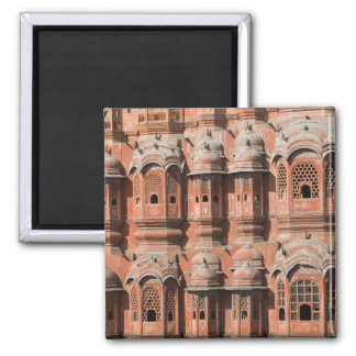 INDIA, Rajasthan, Jaipur: Hawa Mahal (Palace of Square Magnet