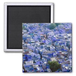 INDIA, Rajasthan, Jodhpur: Blue City of Jodhpur Magnet