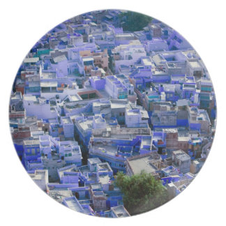 INDIA, Rajasthan, Jodhpur: Blue City of Jodhpur Party Plates