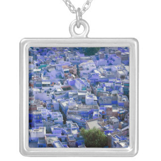 INDIA, Rajasthan, Jodhpur: Blue City of Jodhpur Silver Plated Necklace